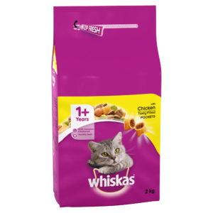 Whiskas 1+ With Chicken 2kg