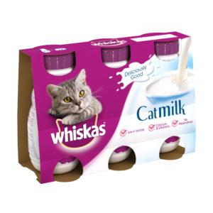 Whiskas Cat Milk 200ml 3 Pack
