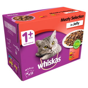 Whiskas 1+ Meaty Selection Cat Food