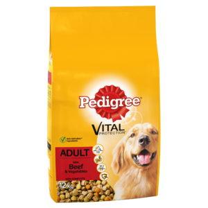 Pedigree Vital Adult Dog Food Beef