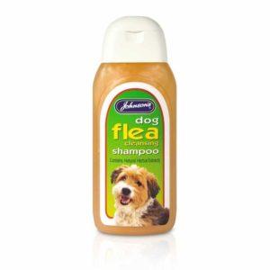 Johnson's Dog Flea Cleansing shampoo