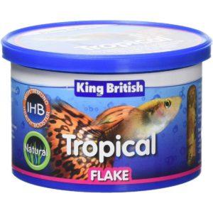 King-British Tropical Fish Flake Food