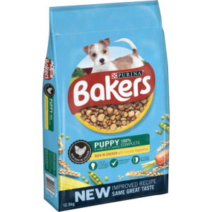 bakers puppy rich in chicken and veg