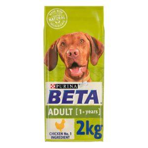 beta adult dog food 2kg