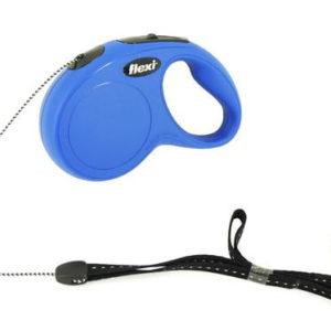 Flexi 5m Retractable Cord Dog Lead Small - Blue
