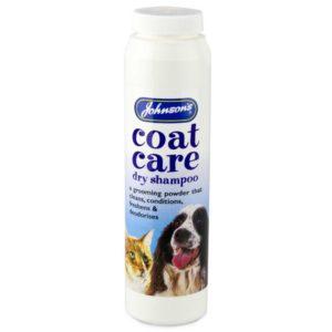 johnsons coat care dry shampoo