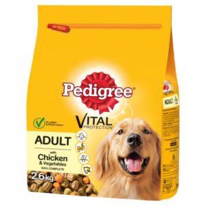 Pedigree Vital Chicken & Vegetables 2.6kg