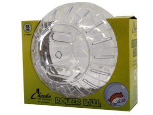 white roller ball for hamsters