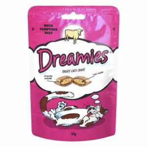 Whiskas Dreamies Beef Cat Pouch