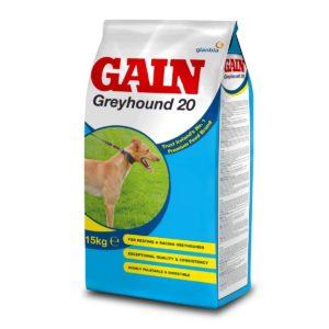 Gain Greyhound 20 dog food 15kg