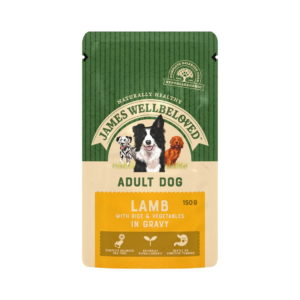 James Wellbeloved Adult Lamb Wet Food Pouches 150g