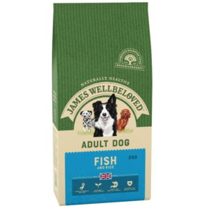 James Wellbeloved Adult Fish & Rice dog food 2kg