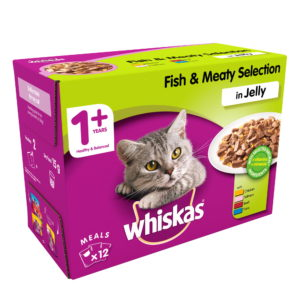 Whiskas Fish & Meaty Selection