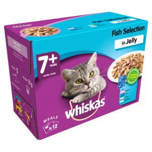 Whiskas 7+ Fish Selection