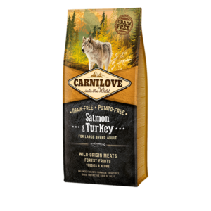 carnilove salmon turkey large breed adult dogs