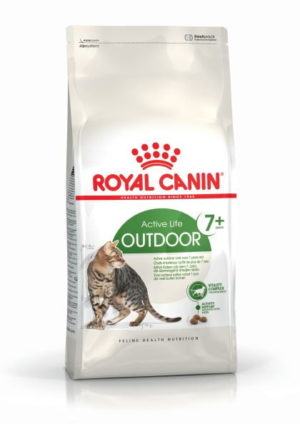 Royal Canin Outdoor Cat Ageing 7+ Dry Mix