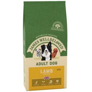 James Wellbeloved Adult Lamb & Rice dog food 2kg