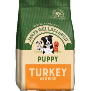 puppy turkey and rice 2kg
