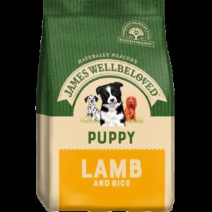 James Wellbeloved Puppy Lamb & Rice dog food 2kg