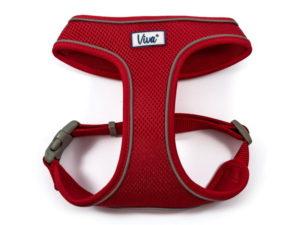viva Simply Comfortable Comfortable Dog Harness, red