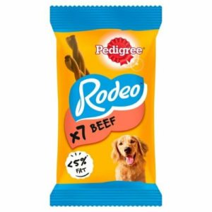 pedigree rodeo chicken and bacon chewy twists