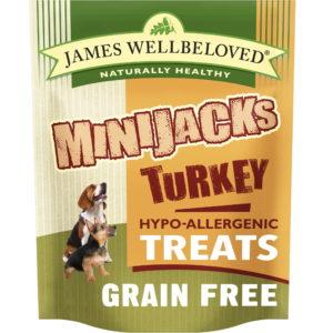 MINIJACKS DOG TREATS TURKEY & VEGETABLES