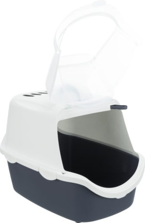 vico cat litter tray open
