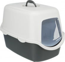 vico cat litter tray with hood