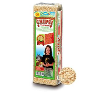 Chipsi Small Strawberry Woodchip 15L