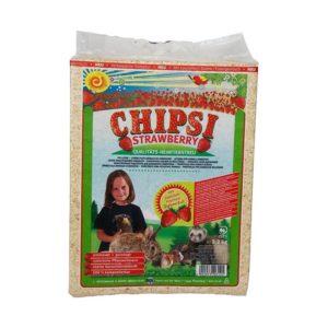 Chipsi Small Strawberry Woodchip 60L