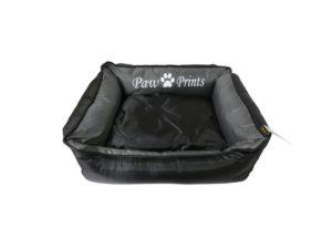 Waterproof Dog Bed Kool Lounger in Black