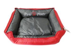 Waterproof Dog Bed Red Kool Lounger