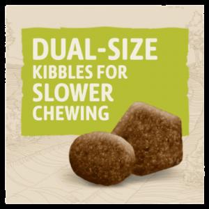 BETA dual sized kibbles