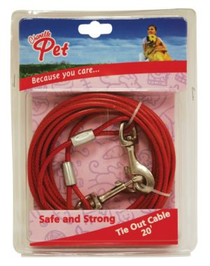 Chanelle Tie Out Cable 5mm x 30ft