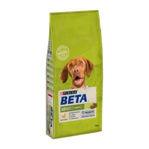 Beta Adult Chicken Dog Food 14kgdog food