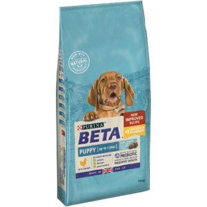 beta puppy with chicken 14kg