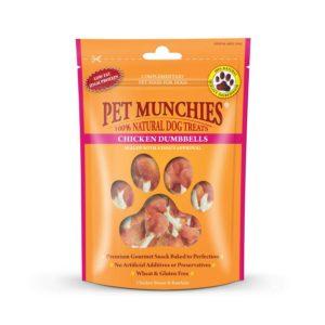 pet munchies chicken dumbells