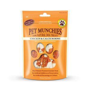 pet munchies chicken and calcium bone