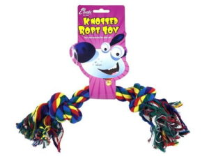30cm knotted rope toy for dogs