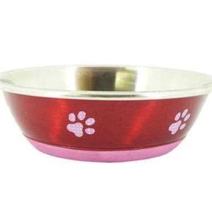 Super Fusion Red Fashion Dog Bowl 350ml