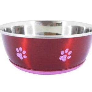 Super Fusion Red Fashion Dog Bowl 1900ml