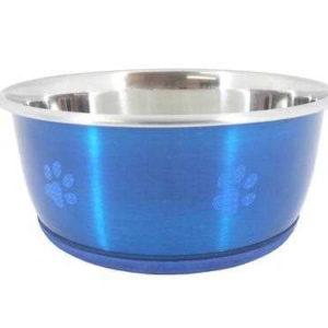 Super Fusion Blue Fashion Dog Bowl 950ml