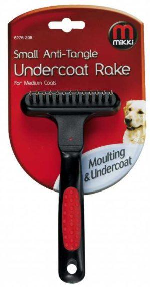 small anti tangle undercoat rake