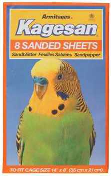 KAGESAN NO3 ORANGE SAND SHEETS 14 X 8