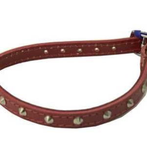 """ANCOL S2 RED SEWN STUDDED COLLAR 14"""""""