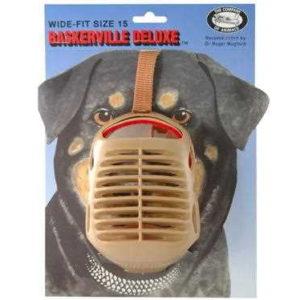 Baskerville Muzzle Size 15 – Wide Fit