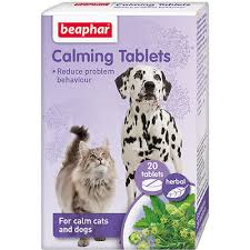 beaphar cat and dog calming tablets