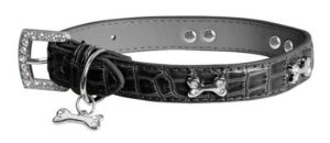 Black Diamante Dog Collar Petworld.ie