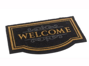 black welcome mat 2nd