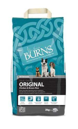 Burns Original Adult Chicken & Brown Rice 2kg